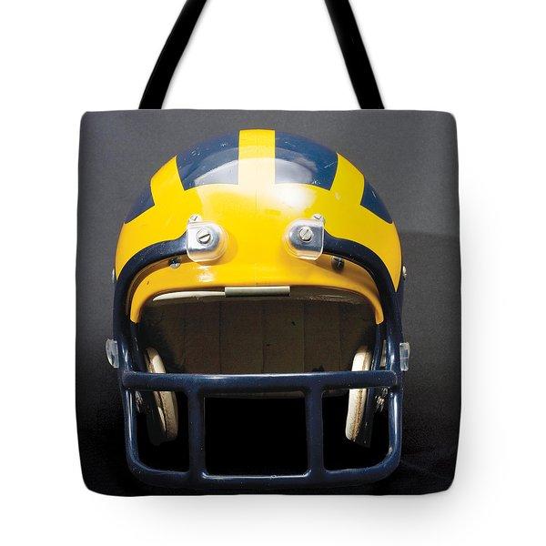 1970s Wolverine Helmet Tote Bag