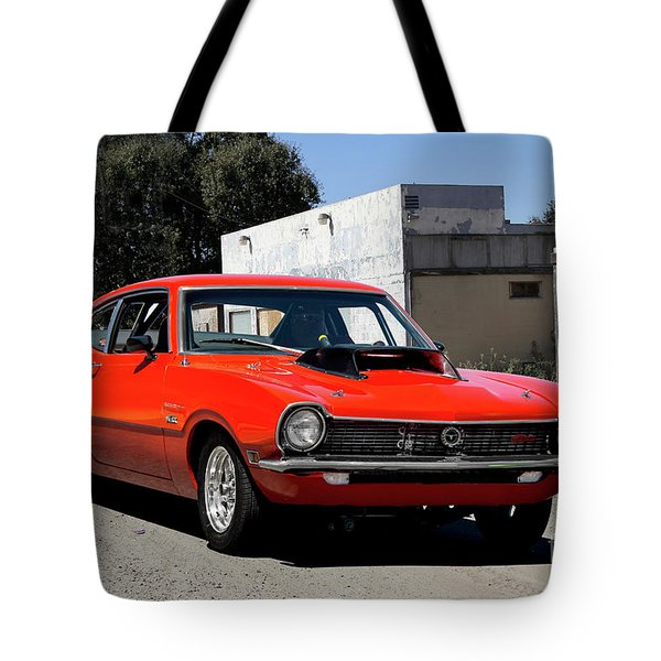 1971 Ford Maverick Boss 351 II Tote Bag