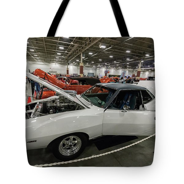 Tote Bag featuring the photograph 1972 Javelin Sst by Randy Scherkenbach