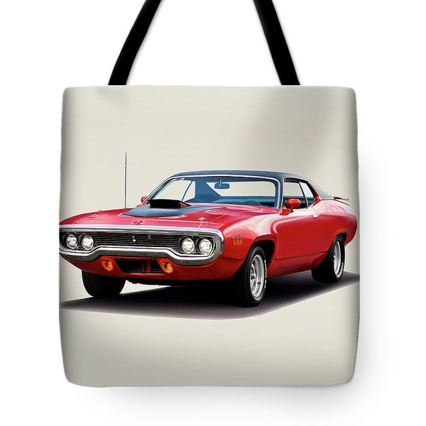 1972 Plymouth Rr 383 Tote Bag
