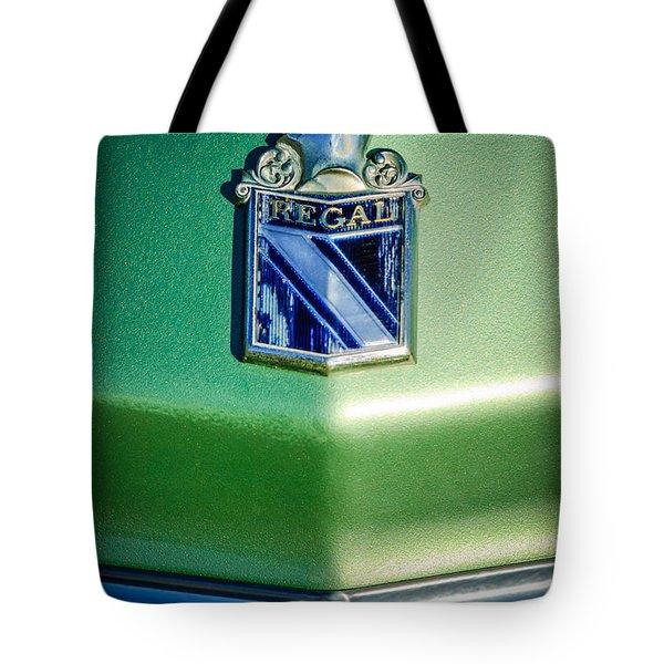 1973 Buick Regal Hood Ornament Tote Bag by Jill Reger
