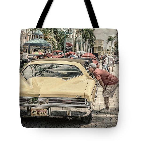 1973 Buick Riviera Tote Bag