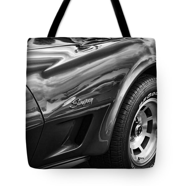 1973 Chevrolet Corvette Stingray Tote Bag
