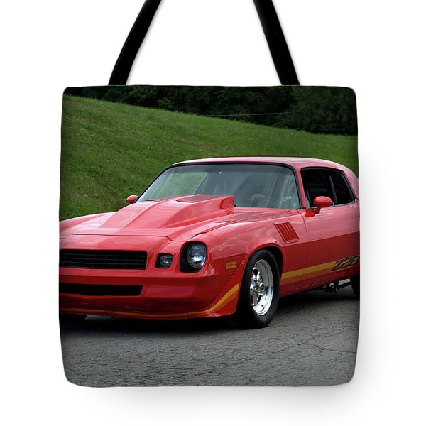 1974 Camaro Z28 Tote Bag by Tim McCullough