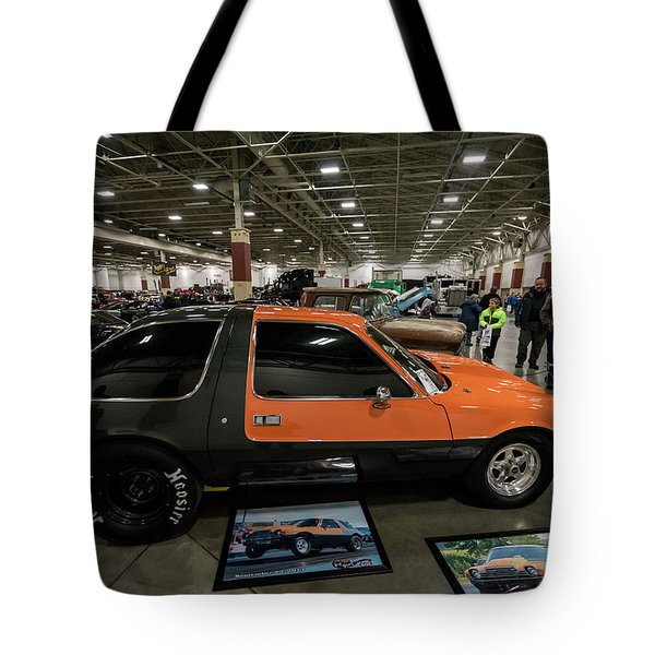 Tote Bag featuring the photograph 1975 Amc Pacer by Randy Scherkenbach