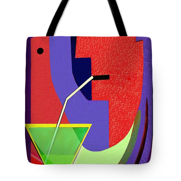 Tote Bag featuring the digital art 1979 - Party Pop 2017 by Irmgard Schoendorf Welch
