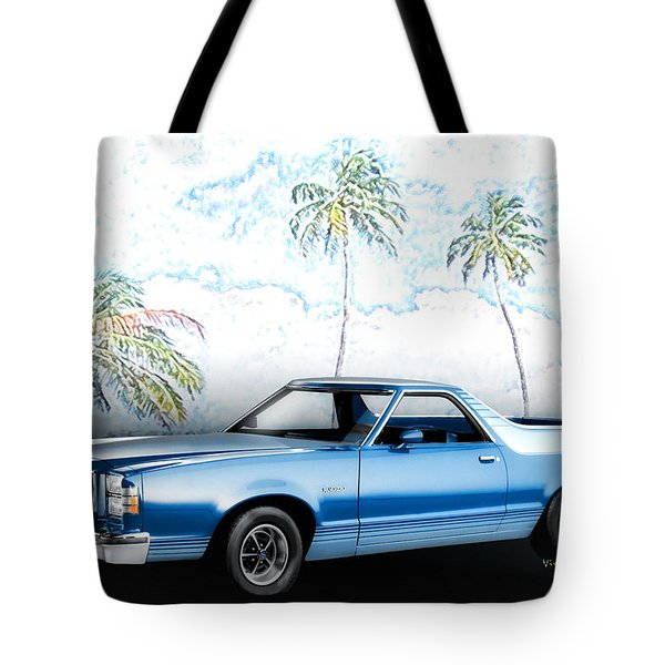 1979 Ranchero Gt 7th Generation 1977-1979 Tote Bag