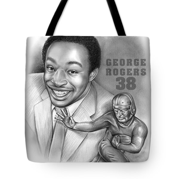 1980 Heisman Winner Tote Bag by Greg Joens