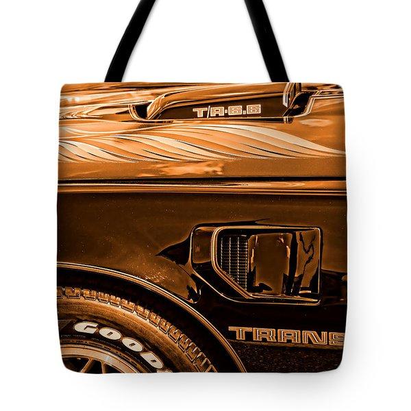 1980 Pontiac Trans Am Tote Bag by Gordon Dean II