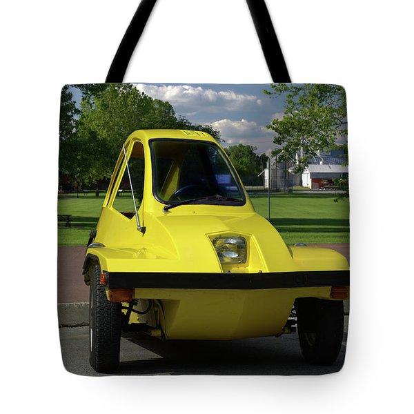 1981 Hmv Freeway Tote Bag