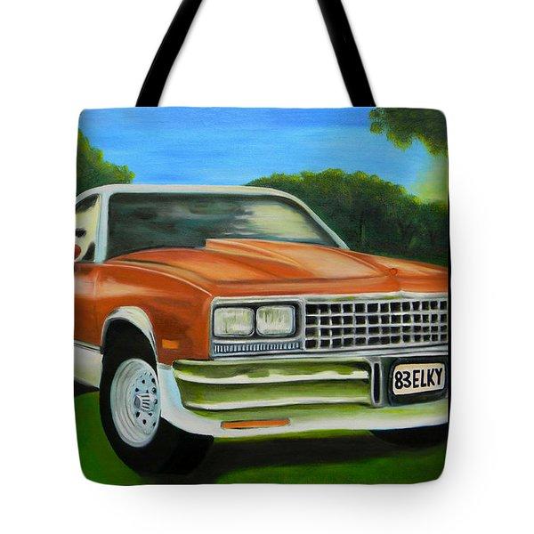 1983 El Camino Poster Tote Bag
