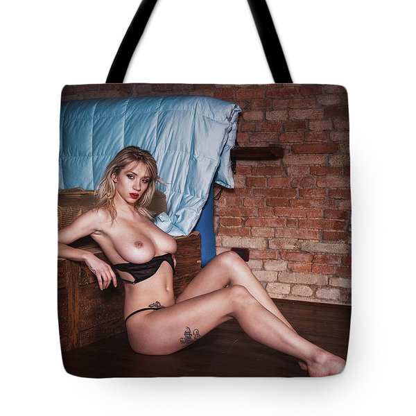 Tote Bag featuring the photograph 1985 by Traven Milovich