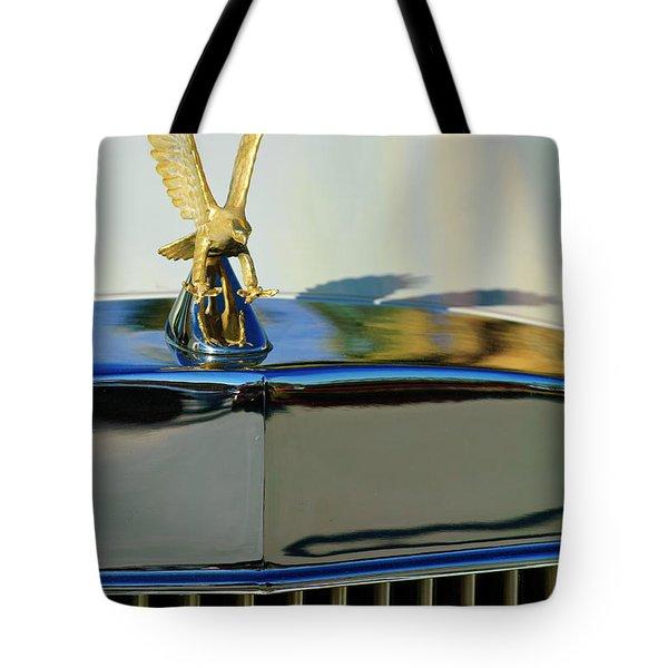 1986 Zimmer Golden Spirit Hood Ornament 2 Tote Bag by Jill Reger