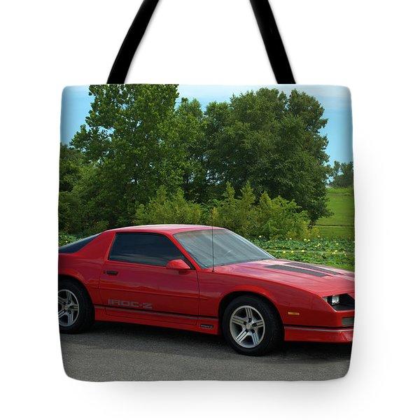 1989 Camaro Iroc Tote Bag