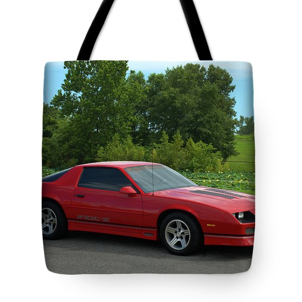 1989 Camaro Iroc Tote Bag by Tim McCullough