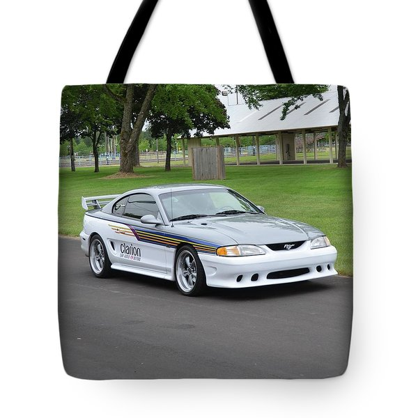 1995 Clarion Mustang Gt Herr Tote Bag