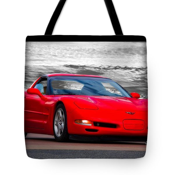 1999 Chevrolet C5 Corvette Tote Bag