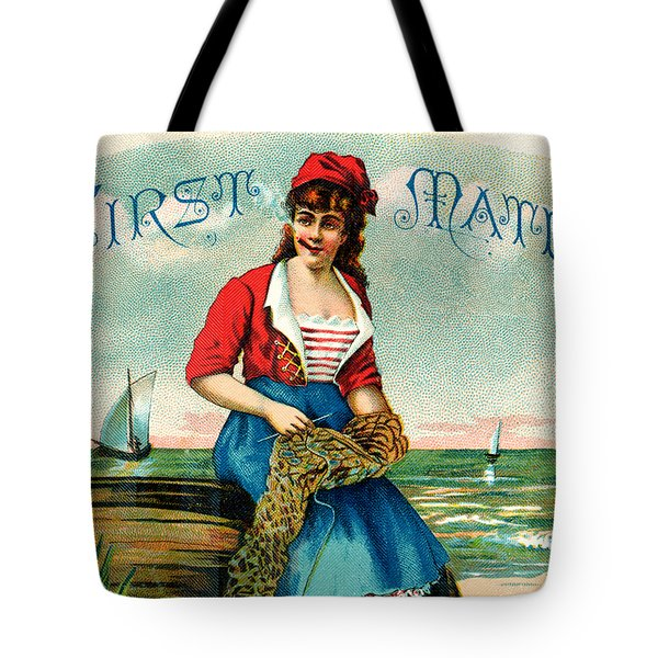 19th C. First Mate Cigars Tote Bag