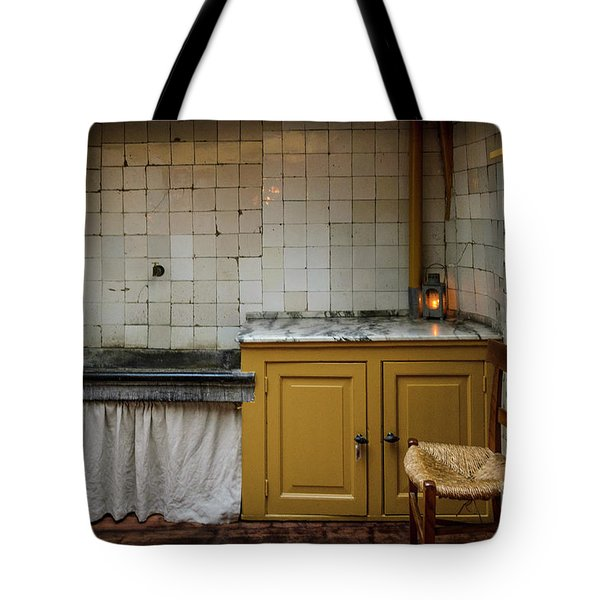 Tote Bag featuring the photograph 19th Century Kitchen In Amsterdam by RicardMN Photography