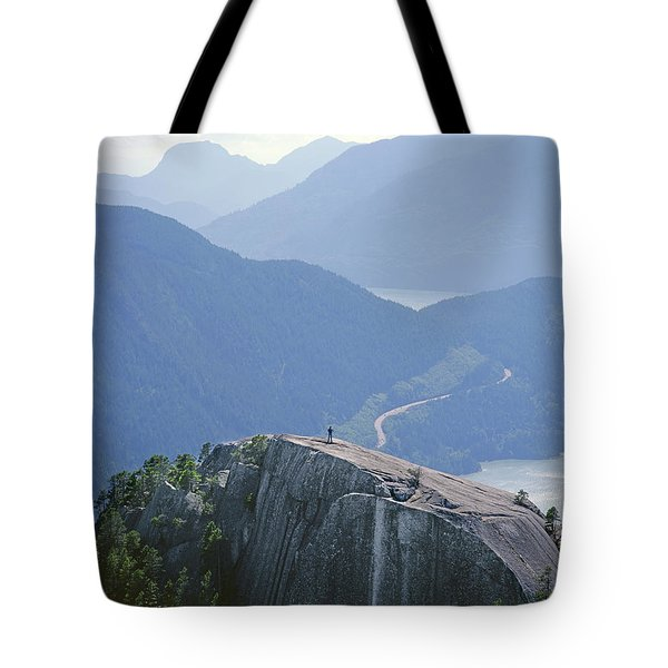 1m2918 South Summit Stawamus Chief From Second Summit Tote Bag