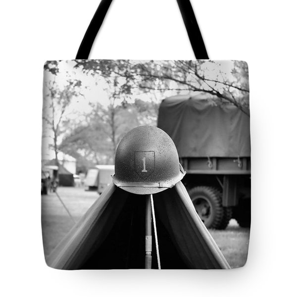 1st Infantry Division Tote Bag by Jimmy Ostgard