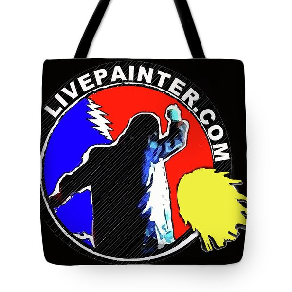 1st Live Painter Logo Tote Bag