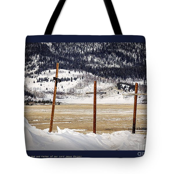 1st Peter Tote Bag by Janice Rae Pariza