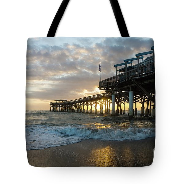 1st Sunrise 2017 Cocoa Beach Tote Bag