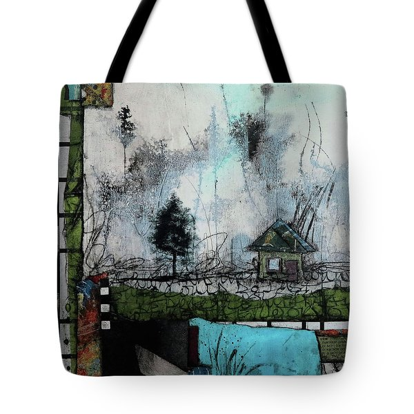 1tree, 1home By The Lake Tote Bag
