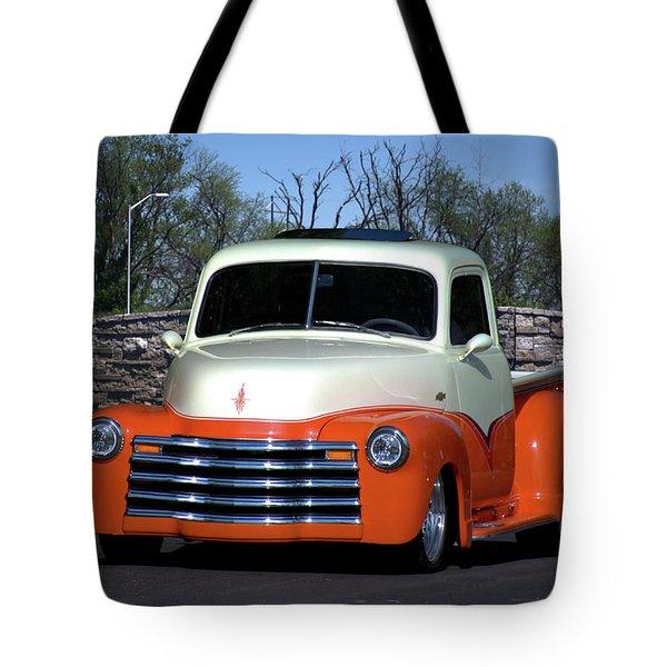 1952 Chevrolet Pickup Truck Tote Bag