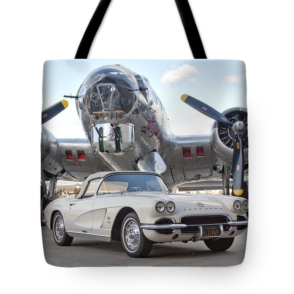 1962 Chevrolet Corvette Tote Bag
