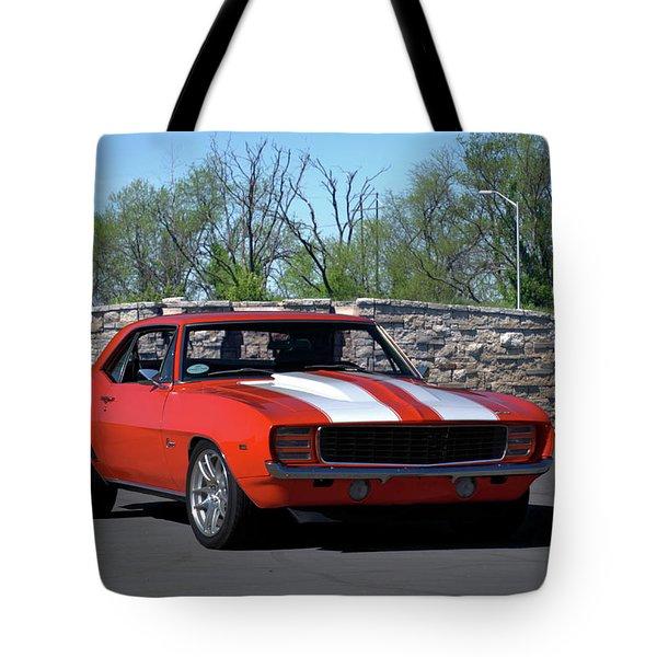 1969 Camaro Tote Bag
