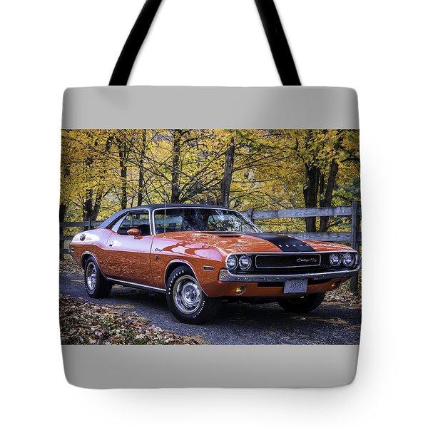 1970 Dodge Challenger Rt  Tote Bag