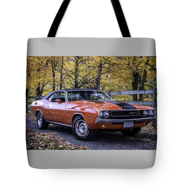 1970 Dodge Challenger Rt  Tote Bag