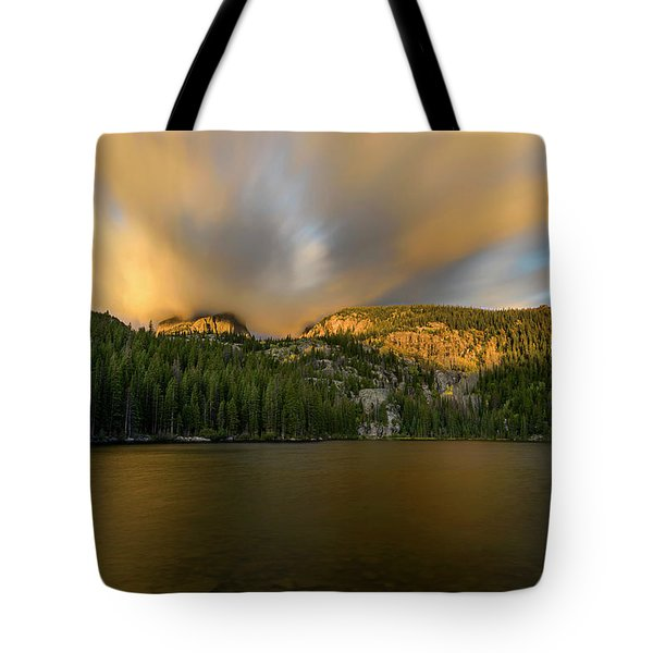 2 / 51  Bear Lake's Hallett Peak #2 Tote Bag