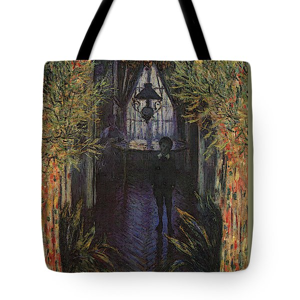 A Corner Of The Apartment Tote Bag by Claude Monet