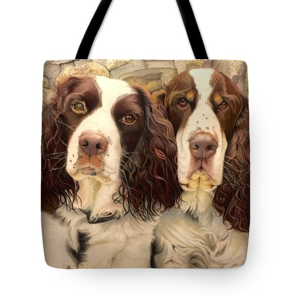 Abby And Romeo Tote Bag
