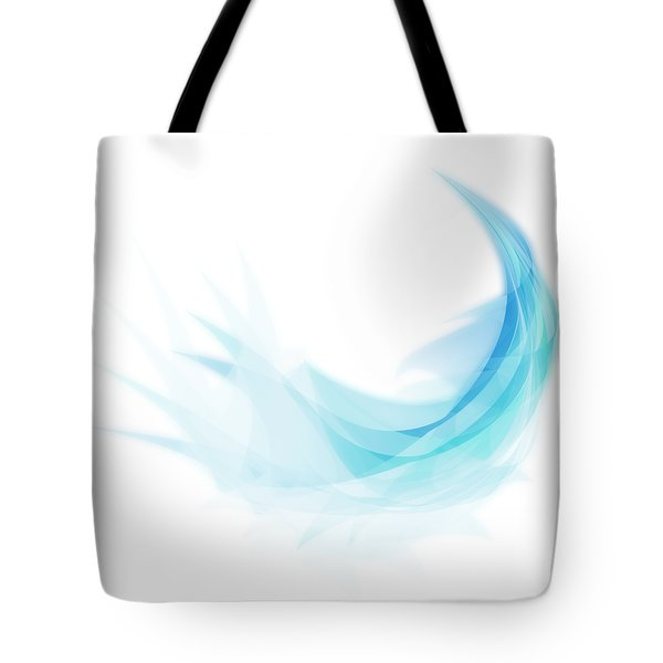Abstract Feather Tote Bag