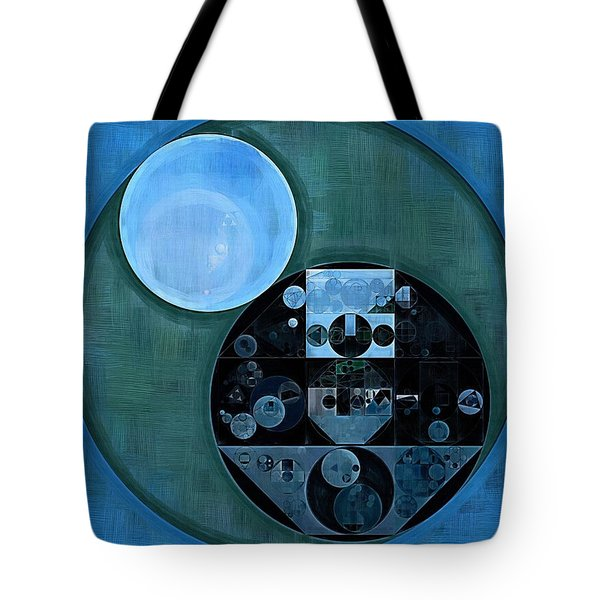 Abstract Painting - Lapis Lazuli Tote Bag by Vitaliy Gladkiy