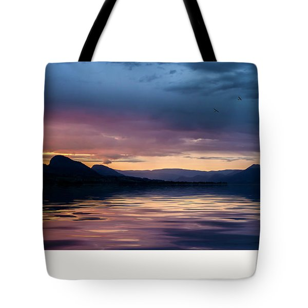 Tote Bag featuring the photograph Across The Clouds I See My Shadow Fly by John Poon