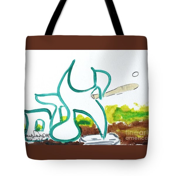 Tote Bag featuring the painting Adam Nm1-16 by Hebrewletters Sl
