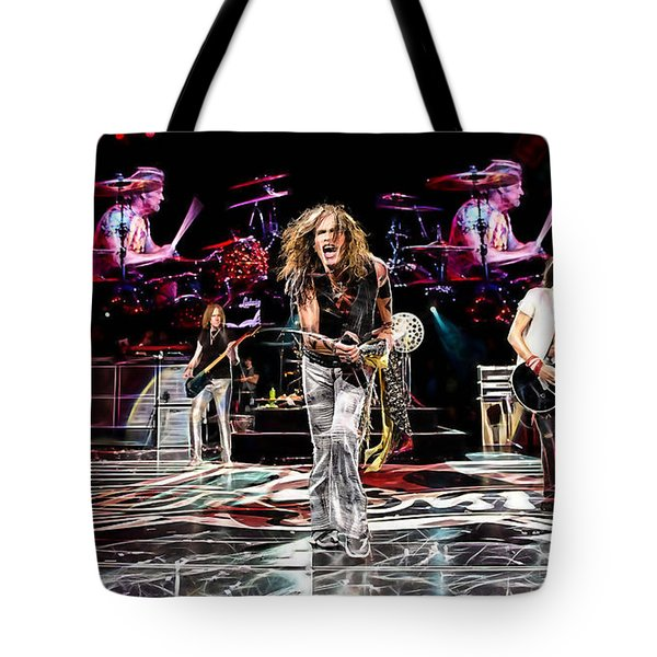 Aerosmith Collection Tote Bag by Marvin Blaine