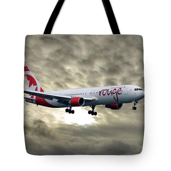 Air Canada Rouge Boeing 767-333 Tote Bag