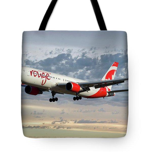 Air Canada Rouge Boeing 767-333 114 Tote Bag