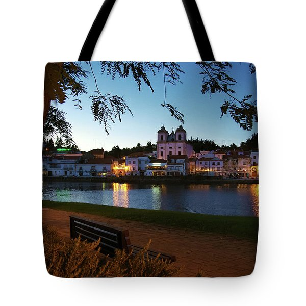 Tote Bag featuring the photograph Alcacer Do Sal by Carlos Caetano