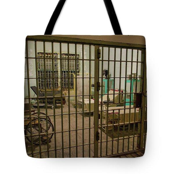 Alcatraz Federal Penitentiary Tote Bag