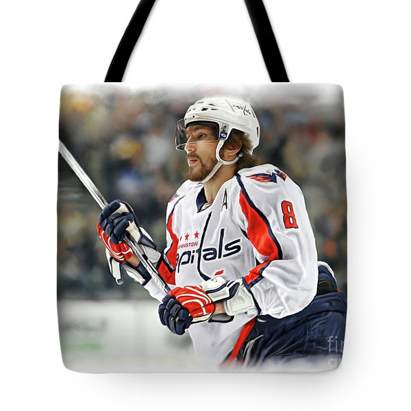 Alexander Ovechkin Tote Bag