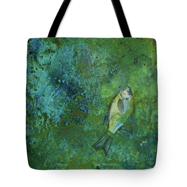 Algae Bloom Tote Bag