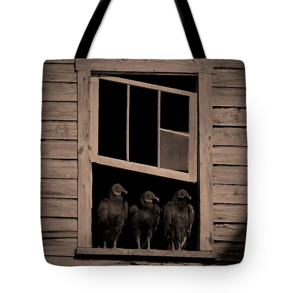 Almost Paneless Tote Bag by Robert Geary