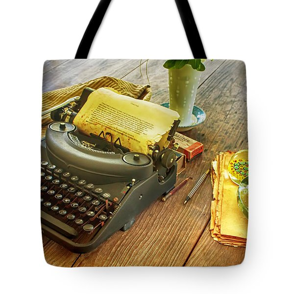 An Author's Tools Tote Bag